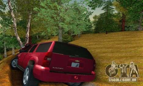 Chevrolet Suburban 2008 para GTA San Andreas vista direita