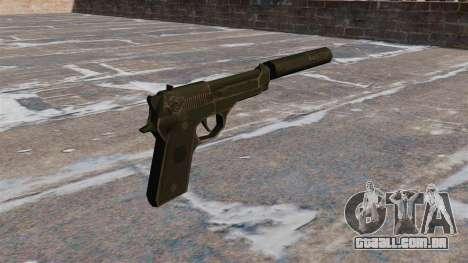 M9 autocarregável pistola com silenciador para GTA 4 segundo screenshot