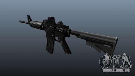 Carabina automática M4A1 tático para GTA 4 segundo screenshot