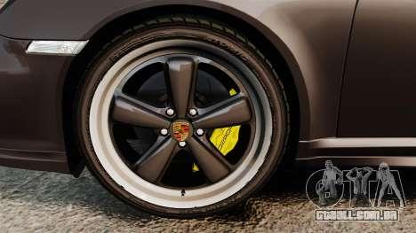 Porsche 911 Sport Classic 2010 para GTA 4 vista interior
