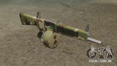 O AA-12 shotgun v2 Camo para GTA 4