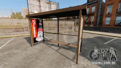 Novos cartazes em pontos de ônibus para GTA 4 quinto tela