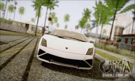 Lamborghini Gallardo LP560-4 2013 para GTA San Andreas vista direita