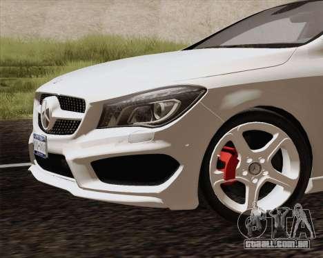 Mercedes-Benz CLA 250 2013 para GTA San Andreas vista direita