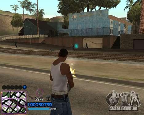 C-HUD by Dony Scofield para GTA San Andreas terceira tela