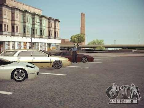 GTA SA Low Style v1 para GTA San Andreas quinto tela