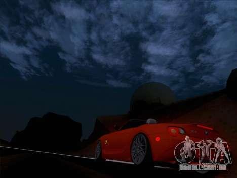 BMW Z4 Edit para vista lateral GTA San Andreas