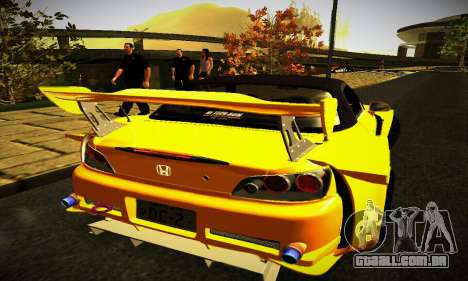 Honda S2000 Amuse GT1 para GTA San Andreas vista direita