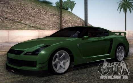 Elegy RH8 from GTA V para GTA San Andreas vista interior