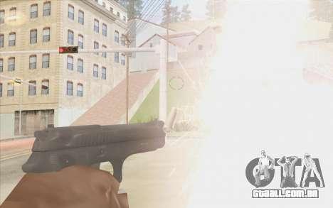 Stechkin pistola para GTA San Andreas terceira tela