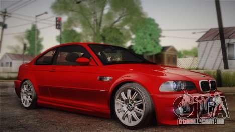 BMW E46 M3 Coupe para GTA San Andreas