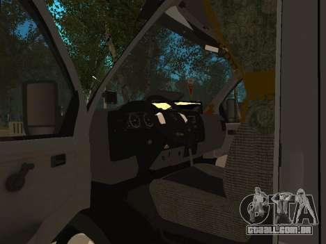 33023 gazela negócios para GTA San Andreas vista interior