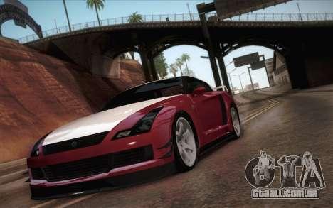 Elegy RH8 from GTA V para GTA San Andreas esquerda vista