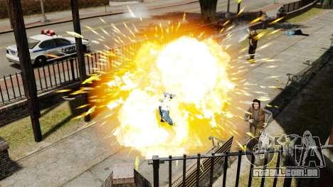 Balas explosivas para GTA 4 quinto tela