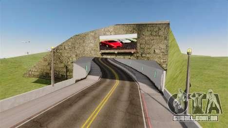 Exposição de carros Lamborghini para GTA 4 terceira tela
