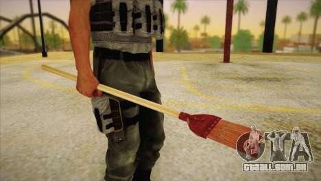 Vassoura para GTA San Andreas terceira tela