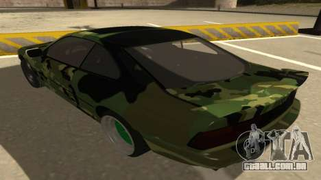 BMW 850CSi 1996 Military Version para GTA San Andreas vista traseira