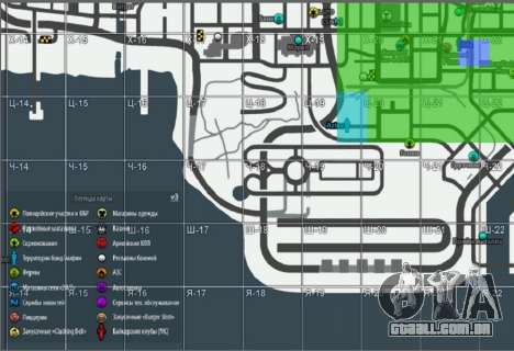 Mapa com a edição de inverno [Samp-Rp] para GTA San Andreas