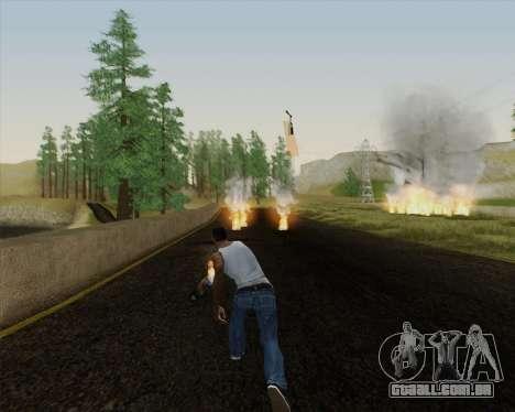 Champanhe para GTA San Andreas sexta tela