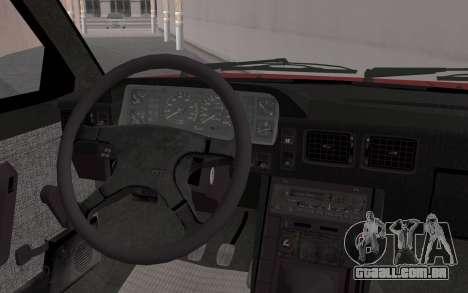 FSO Polonez Caro 1.4 GLI 16V para GTA San Andreas vista direita