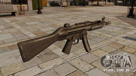 Pistola-metralhadora HK MP5 para GTA 4 segundo screenshot