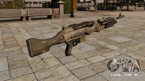 Metralhadora M240 propósito geral para GTA 4 segundo screenshot