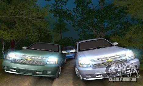 Chevrolet Suburban 2008 para GTA San Andreas vista interior