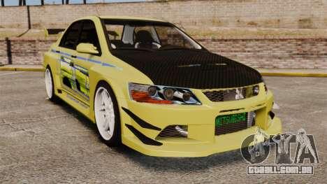 Mitsubishi Lancer Evolution IX 2006 tuning 2f2f para GTA 4