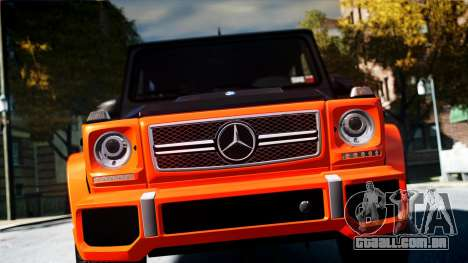 Mercedes-Benz G65 AMG 2013 para GTA 4 vista direita