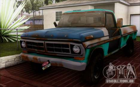 Ford F-150 Old Crate Edition para GTA San Andreas