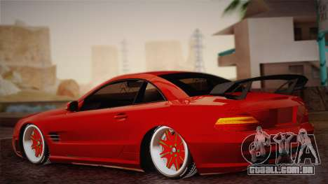 Mercedes-Benz SL65 AMG Racing Edition para GTA San Andreas esquerda vista
