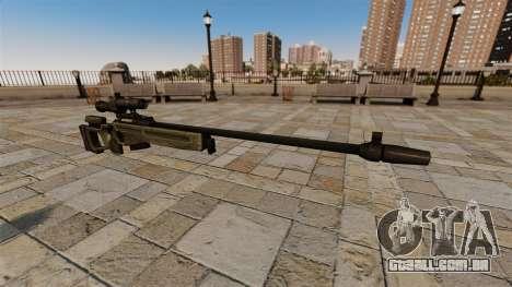 Rifle sniper SV-98 para GTA 4