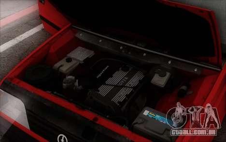 FSO Polonez Caro 1.4 GLI 16V para GTA San Andreas interior