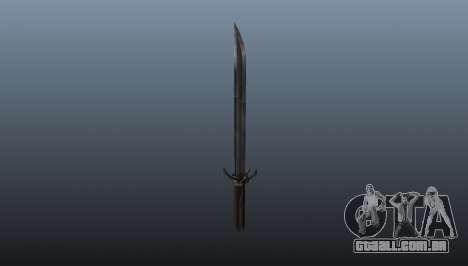 Dishonored Corvos Blade para GTA 4 segundo screenshot
