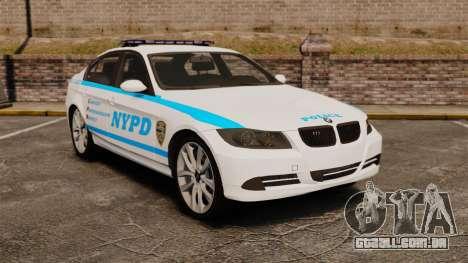 BMW 350i NYPD [ELS] para GTA 4
