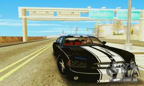 Dodge Charger DUB para GTA San Andreas traseira esquerda vista