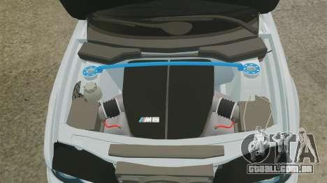 BMW M5 E39 2003 para GTA 4 vista interior