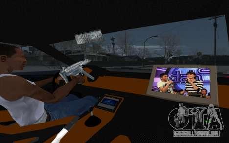 Tuned Elegy para GTA San Andreas vista traseira