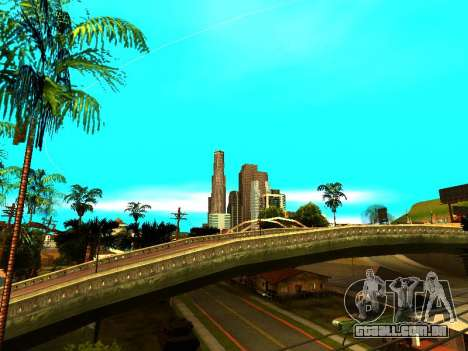 ENBSeries with View Distance para GTA San Andreas por diante tela