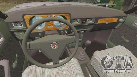 Gaz-31029 táxi para GTA 4 vista de volta