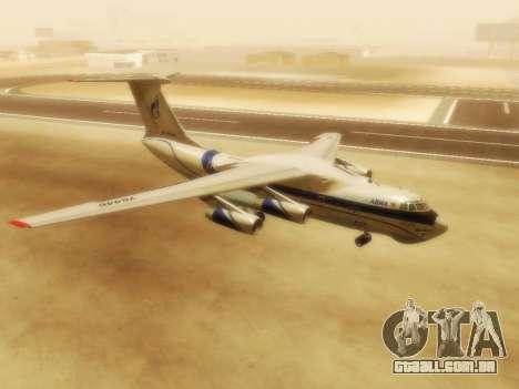 Il-76td Gazpromavia para GTA San Andreas