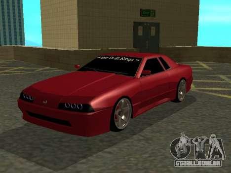 Elegy TDK-The Drift Kings para GTA San Andreas esquerda vista
