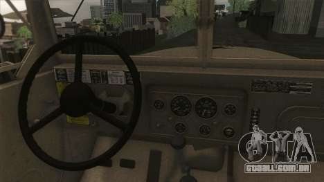 AM General M35A2 1950 para vista lateral GTA San Andreas