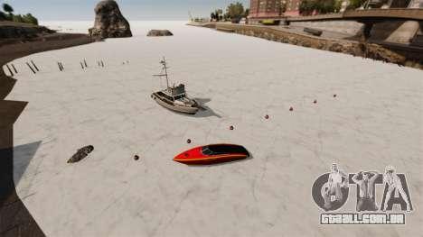 Água congelada para GTA 4
