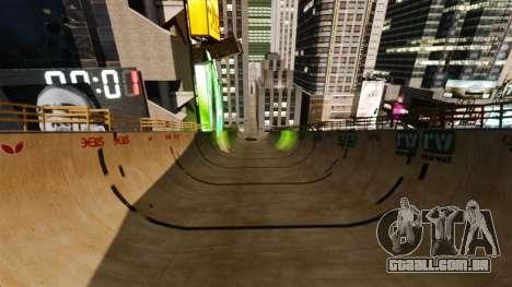 Algonquin Stunt Ramp para GTA 4 terceira tela
