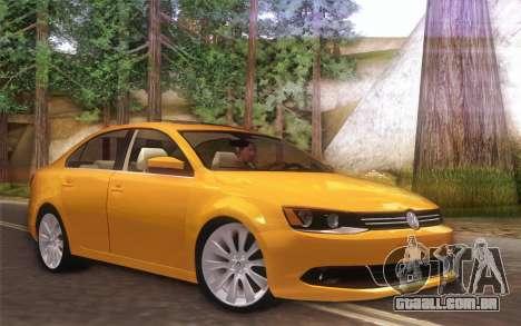 Volkswagen Vento 2012 para GTA San Andreas esquerda vista