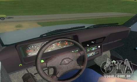 Lada Niva Patrola para GTA San Andreas vista traseira