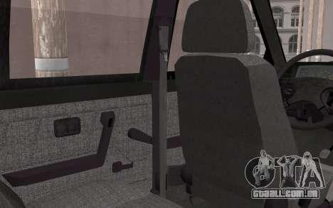 FSO Polonez Caro 1.4 GLI 16V para GTA San Andreas vista traseira