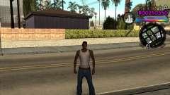 C-HUD by Andy Cardozo para GTA San Andreas