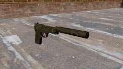 M9 autocarregável pistola com silenciador